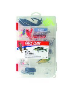 34 PC KIT TK-NIGHTFSH1 USA FISHING HOOKS Eagle Claw Night Fishing Tackle Kit