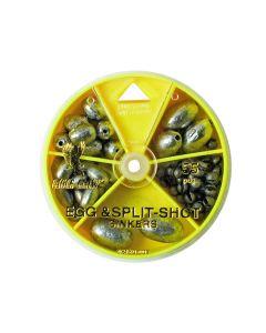 02180 Egg and Split-Shot Sinker Assortment