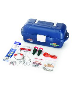 Lazer Saltwater Go Fish Tackle Box Kit
