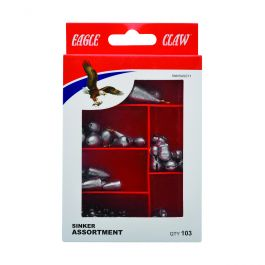 Eagle Claw Worm Weight Sinker 02040-002 10pcs for sale online