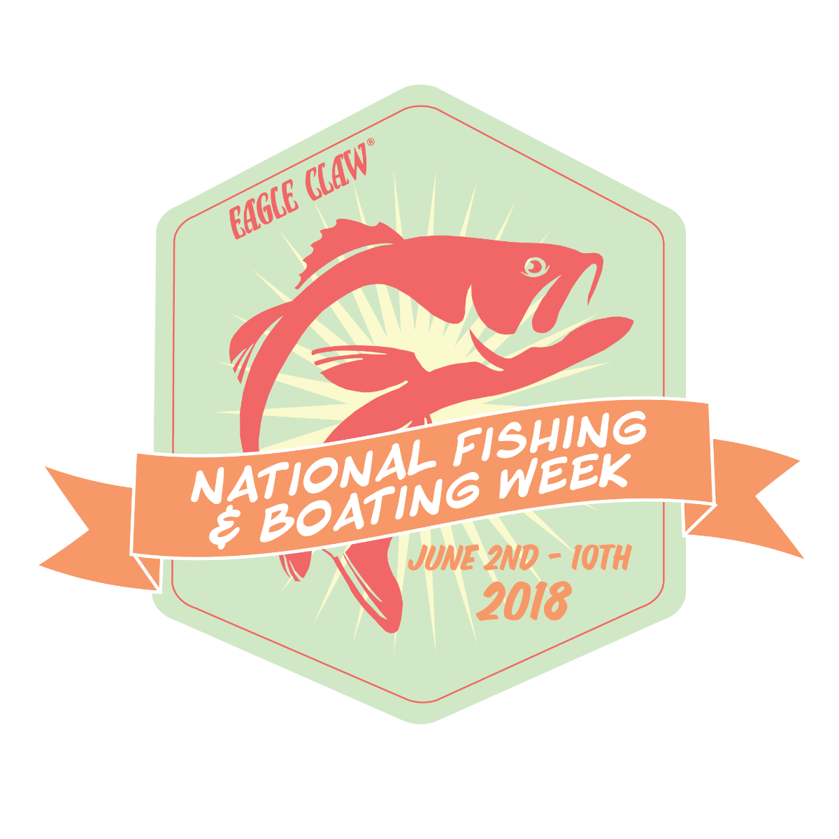 National Fishing and Boating Week Graphic