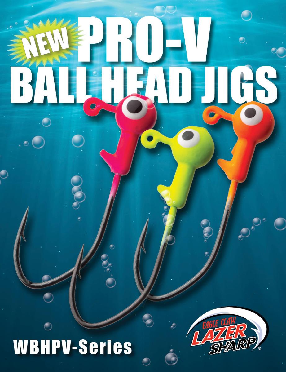 WBHPV Pro-V Ball Head Jigs